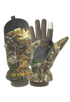 Hot Shot Mens Predator Pop-Top Mitten