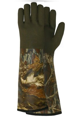 Mossy Oak Extreme Cold Weather PVC Coated with Thinsulate Lined Decoy Hunting Gloves, 330, Size One Size Fits Most